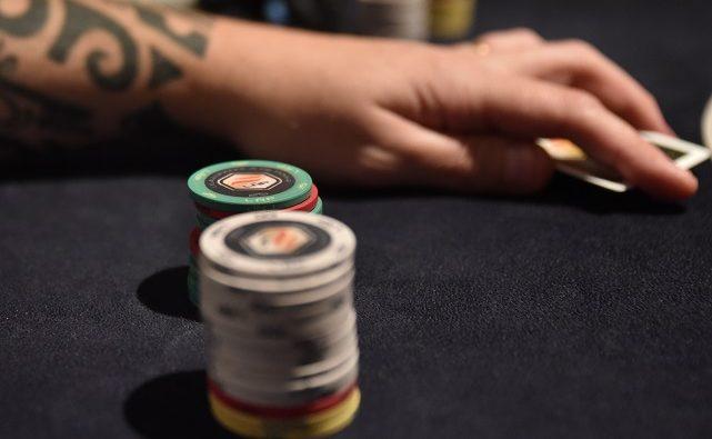 fichas de torneo de poker